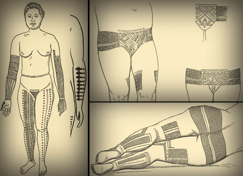 pohnpei womens tattoos