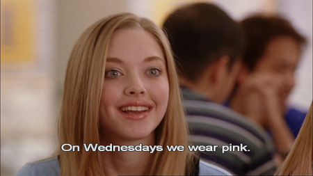 on wednesdays we wear pink