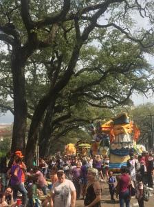 Krewe of Rex Parade, Mardi Gras Day